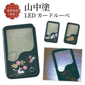 拡大鏡 ルーペ 5倍 LEDライト付き おしゃれ 明るい 虫眼鏡 カードルーペ  記念品|e-zakkaya