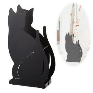 傘立て かさ立て アンブレラスタンド おしゃれ 猫 ねこ キャット かさたて ネコ ブラック 02359 キャット ネコ 猫 グッズ特集 傘立て特集 アイデア...|e-zakkaya