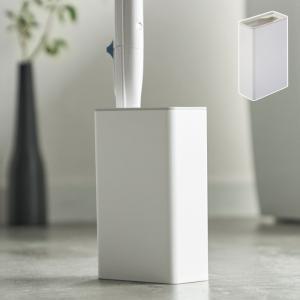 トイレブラシ 使い捨て 流せるトイレブラシ 収納 スタンド トイレ Plate  流せるトイレブラシスタンド プレート ホワイト  白