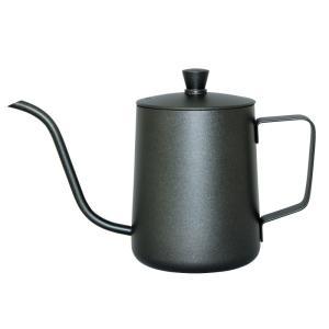 コーヒーポット ドリップケトル ホームメイドカフェ ドリップポット 黒 51434 コーヒーグッズ特集 ギフト プレゼント 贈り物 e-zakkaya
