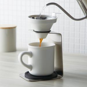 コーヒードリッパー セット コーヒーメーカー ハンドドリップ ブリューコーヒー 一人用ドリッパーセット ホワイト 51641 コーヒーグッズ特集 ギフト プレゼント|e-zakkaya
