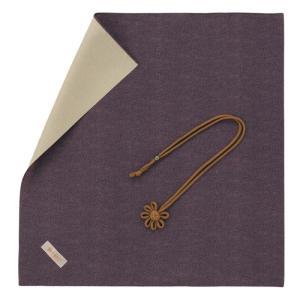 名入れ 対応 ふくさ 飾り結びふくさ 946 紫ベージュ ギフト プレゼント 贈り物  記念品|e-zakkaya