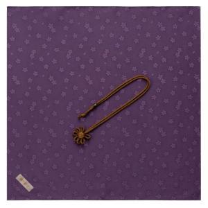名入れ 対応 ふくさ 飾り結びふくさ 947 パープル ギフト プレゼント 贈り物  記念品|e-zakkaya