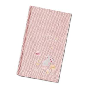 名入れ 対応 ふくさ 結婚式 慶事用 袱紗 つづれ織 金封ふくさ 刺繍入り うさぎ ピンク 150-2 ギフト プレゼント 贈り物  記念品|e-zakkaya