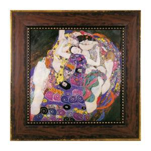 アートパネル アートフレーム クリムト グスタフ クリムト Klimt 名画 有名 絵画 絵 壁掛け 名画 クリムト ザ・バージン インテリアパネル ウォールパネル おし e-zakkaya