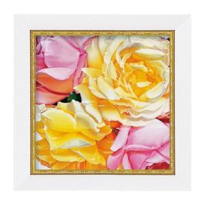 アートパネル ミニアート ウォールパネル インテリアパネル 絵画 絵 花 薔薇 バラ ばら インテリア 玄関 アニーバードラットピース アートフレーム