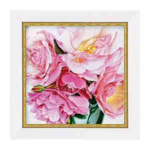 アートパネル ミニアート ウォールパネル インテリアパネル 絵画 絵 花 薔薇 ばら バラ インテリア 玄関 アニーバードラットローズドラッシー アートフレーム