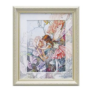 アート アートパネル 妖精 シシリーメアリーバーカー フラワーフェアリーズ スイートピーフェアリーズ  花 かわいい
