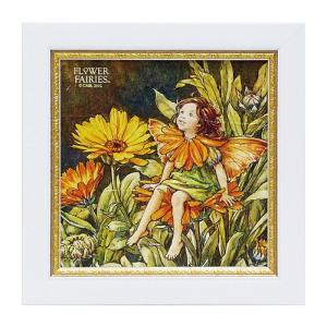 アート アートパネル 妖精 シシリーメアリーバーカー フラワーフェアリーズ マリーゴールドフェアリー  花 かわいい