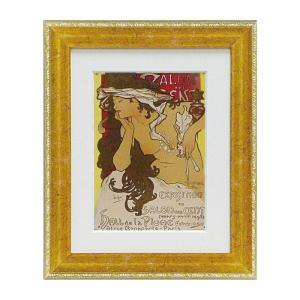 アート ミュシャ インテリア 人物像 アルフォンス ミュシャ サロンデサン 絵画 人物画 名画 e-zakkaya