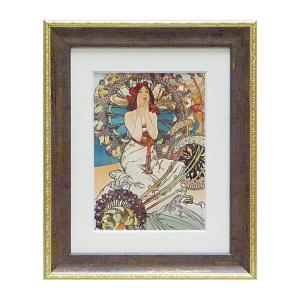 アート ミュシャ インテリア 人物像 アルフォンス ミュシャ モナコ モンテカルロ 絵画 人物画 名画