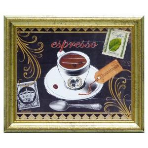 絵画 絵 モルガンヤマダ コーヒースクワール MY-05032 コーヒーグッズ特集 ギフト プレゼント 贈り物|e-zakkaya