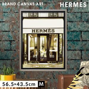 アートパネル おしゃれ ブランド ブランドオマージュアート インテリア エルメス HERMES オマージュキャンバスアート デザイナーエントランス5 Mサイズ マドレーヌ ブレイク 新生活 店舗 模様替え おしゃれ 絵画 引越し フレームアート 母の日