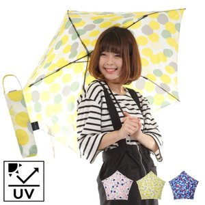 傘 折りたたみ傘 レディース 軽量 スリム 軽量折りたたみ傘 ブルーミングドット mabu レイング...