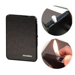 シガレットケース たばこケース 煙草ケース COMBI ライター付きポップアップケース ブラック メール便対応   メンズ Men's  おしゃれ|e-zakkaya