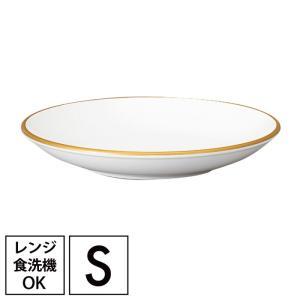小皿 プレート 皿  食器 白 和洋平皿 S ホワイト&ゴールド クリスマス ギフト プレゼント 贈...