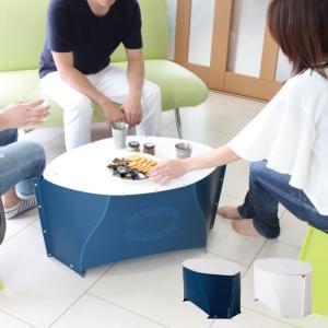 折りたたみテーブル アウトドア コンパクト PATATTO TABLE 折りたたみ式テーブル 全2色