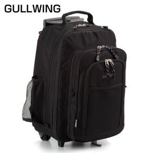 メンズ 男性用 カート キャリーカート ガルウイング トロリーバッグ リュック式 黒 15152 送料無料