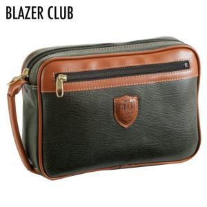 セカンドバッグ メンズ 紳士 クラッチバッグ  ブレザークラブ BDII セカンドバッグ カーキ 25367   メンズ 男性用 mens 紳士 バッグ かばん 人気|e-zakkaya