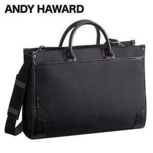 メンズ  男性用 紳士 ビジネス バッグ アンディハワード 2本手兼用大割れビジネス ブリーフケース 黒 26428   メンズ 男性用 mens 紳士 バッグ かばん 人気|e-zakkaya
