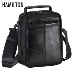 メンズ  男性用 紳士 肩掛けカバン ハミルトン 合皮コンビショルダーシリーズ ショルダーバッグ 黒 33671