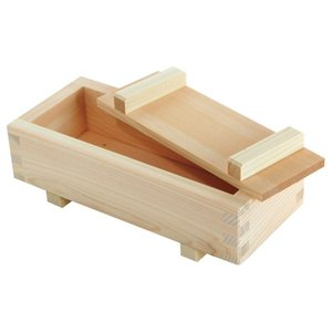 押し寿司 型 型枠 押し寿司器 押寿司器 箱寿司器 大 82511 ひのき 木枠 木製 ひな祭り 雛祭り 寿司 バッテラ 型 ちらし寿司 花見 おせち 正月 寿司 パーティー|e-zakkaya