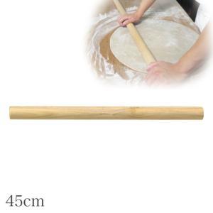 蕎麦 めん棒 麺棒 木 日本製 45cm 82591  記念品|e-zakkaya