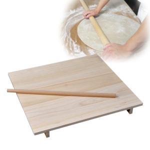 蕎麦 のし板 めん棒付き 麺棒付き 中 85295  記念品|e-zakkaya