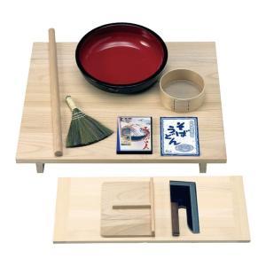 そば打ち道具 蕎麦打ち道具 セット 蕎麦 TS-136 手打ち名人セット 85509  記念品|e-zakkaya
