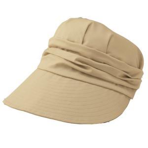 帽子 レディース UV 夏 UV対策 日よけつば広キャスケッ...