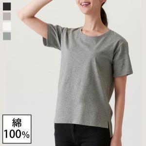 tシャツ Tシャツ レディース 無地 半袖 春夏 脇汗 綿100%汗ジミ目立ちにくいTシャツ