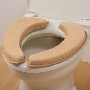 便座シート 便座クッション トイレ うっとりふわもち便座クッション キャメル|e-zakkaya