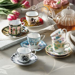 ディズニー ティーカップ 不思議の国のアリス アートコレクション デミタス碗皿 3236 ギフト プレゼント 贈り物|e-zakkaya