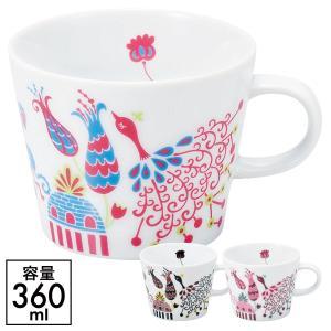 マグカップ マグ 北欧 かわいい isso ecco マグカップ くじゃく ギフト プレゼント 贈り物 e-zakkaya