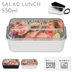 お弁当 女子 レディース 女性用 サラダ サラダランチ 容器 aya 糖質カットダイエット 炭水化物ダイエット SALAD DELI MARKET 長角 EMP ランチ 1段 プラスチック製 樹脂製 日本製