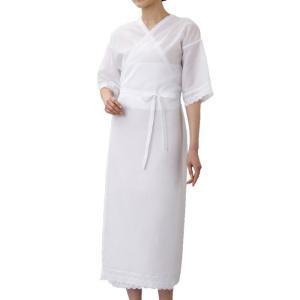 着物スリップ 和装スリップ 和装下着 きものスリップ 白 M L  おしゃれ|e-zakkaya