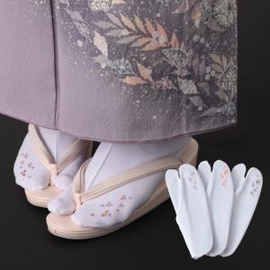 足袋ソックス 靴下 レディース 刺しゅう足袋ソックス 全3種類 メール便対応  おしゃれ|e-zakkaya