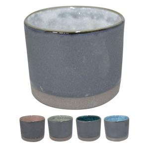 ロックカップ 焼酎カップ 焼酎 カップ 窯変 塗分け ロック ギフト プレゼント 贈り物|e-zakkaya