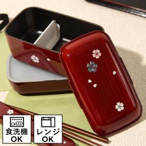 弁当箱 女子 レディース 女性用 2段 日本製 ランチボックス 電子レンジ対応 食洗機対応 ドーム二段弁当 30013 プラスチック製 樹脂製