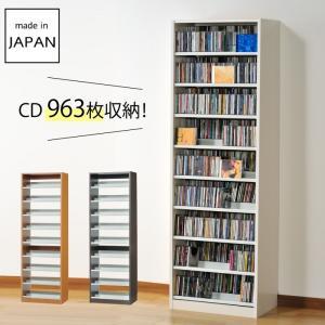 cdラック cd 収納 DVDラック スリム 大容量 おしゃれ オークス タンデムCDストッカー TCS590 メーカー直送|e-zakkaya