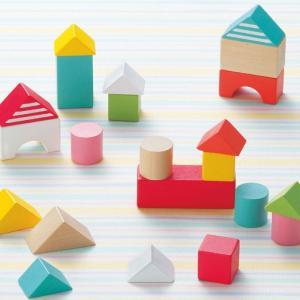 積み木 木製 木のおもちゃ キンダーシュピール ハッピーセット 積み木
