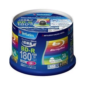 Verbatim 三菱化学メディア Verbatim BD-R 6倍速 50枚組 プリンタブル/スピ...