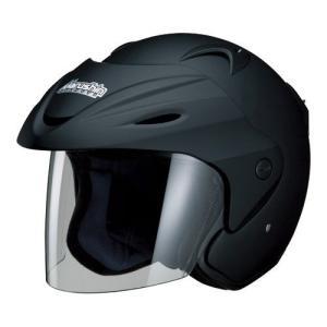 MARSHIN  マルシン バイクヘルメット ジェット M-380 マットブラック フリーサイズ 5...