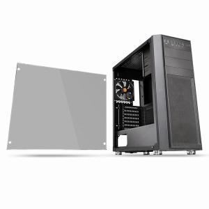 Thermaltake サーマルテイク ミドルタワー型PCケース Versa H26 TG CA1J...