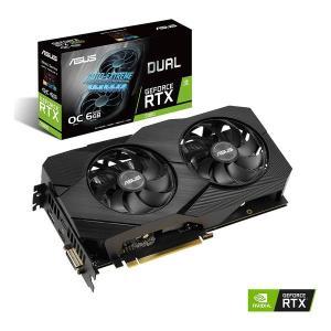 ASUS  エイスース GF RTX2060 6GB PCI-E DUALRTX2060O6GEVO (2476145)  送料無料の画像