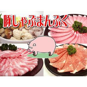 九州産○豚しゃぶまんぷくセット[合計1.25Kg]★ビタミン...