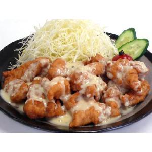九州名物・チキン南蛮セット☆若鶏とり天用むね肉[4袋]+南蛮たれ&タルタルソース[各1本][送料無料 一部地域を除く]|e298com
