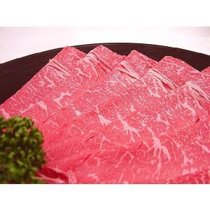 九州産 黒毛和牛★霜降りもも赤身スライス[100g]すき焼き・しゃぶしゃぶ用 e298com