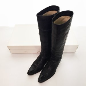◆COMME CA DU MODE コムサデモード ロングブーツ サイズ24.0 レディース ブラック 黒 シューズ 靴 シンプル 5BB/60856 e3apparel-ltd-ys