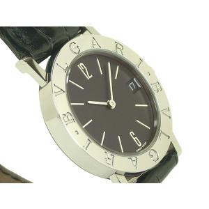 ブルガリ 腕時計 BB30SL SS/革 クオーツ|e78nakaya